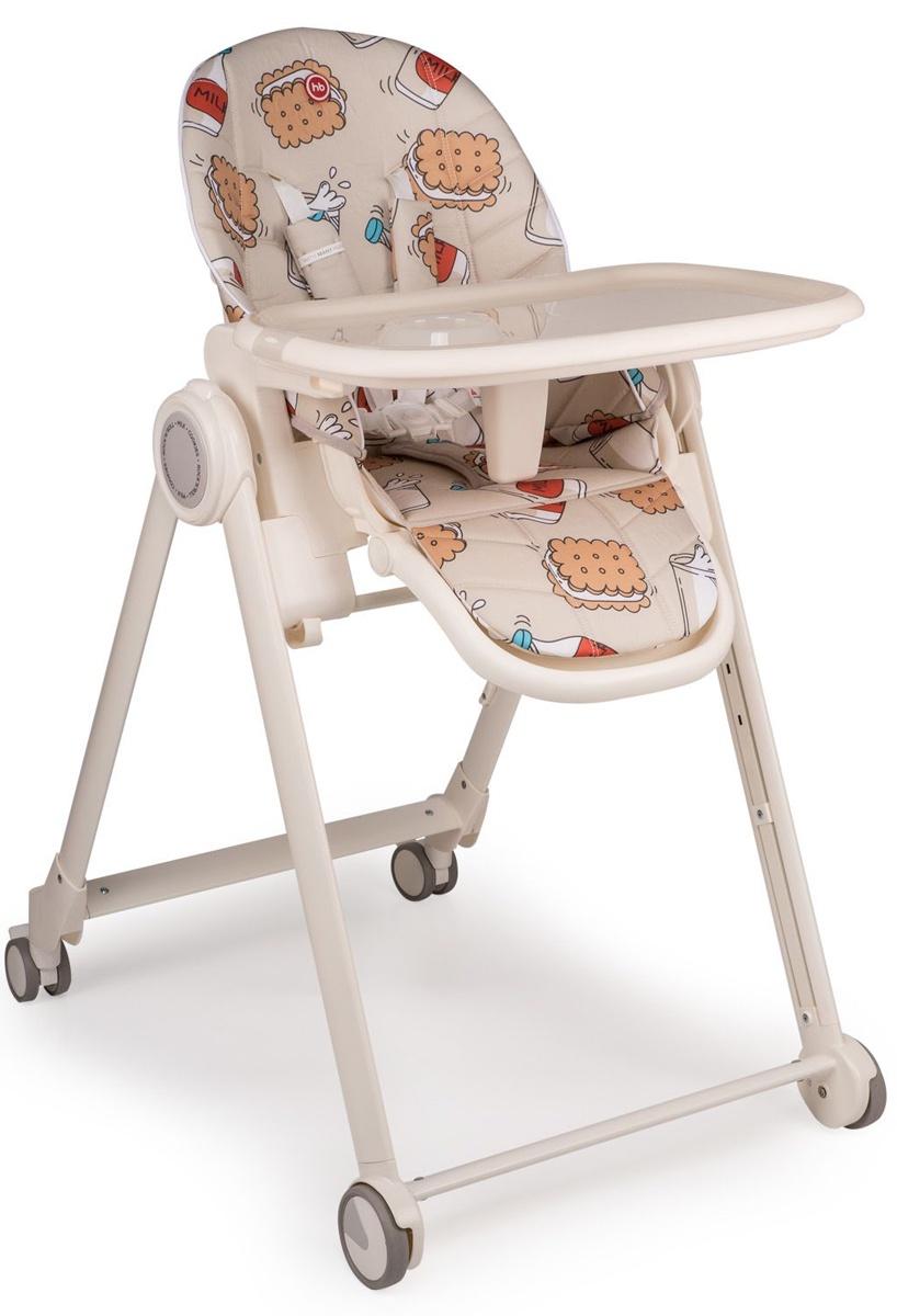 "Стул для кормления Happy baby ""BERNY BASIC"", до 25 кг, цвет: beige"