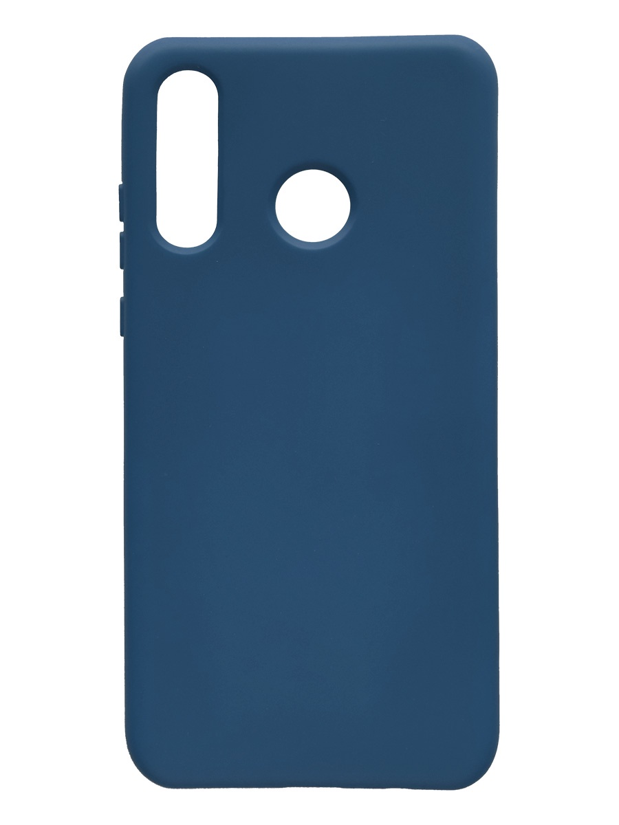 Чехол силиконовый Onext для телефона Huawei P30 Lite (2019), синий (liquid) чехол для huawei p30 onext прозрачный