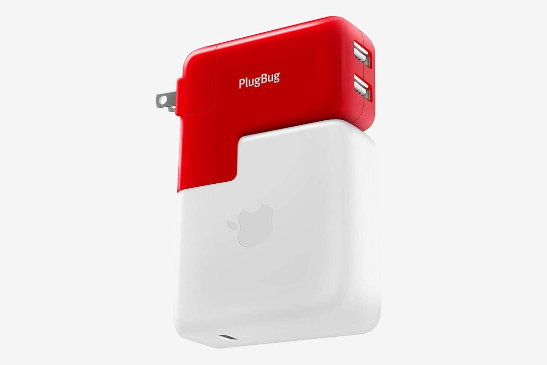 Сетевое зарядное устройство Twelve South PlugBug Duo (12-1706) для MacBook (Red)