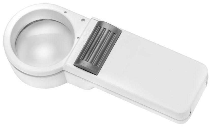Лупа асферическая ручная с подсветкой Eschenbach mobilux ECONOMY, диаметр 35 мм, 7.0х, 28.0 дптр