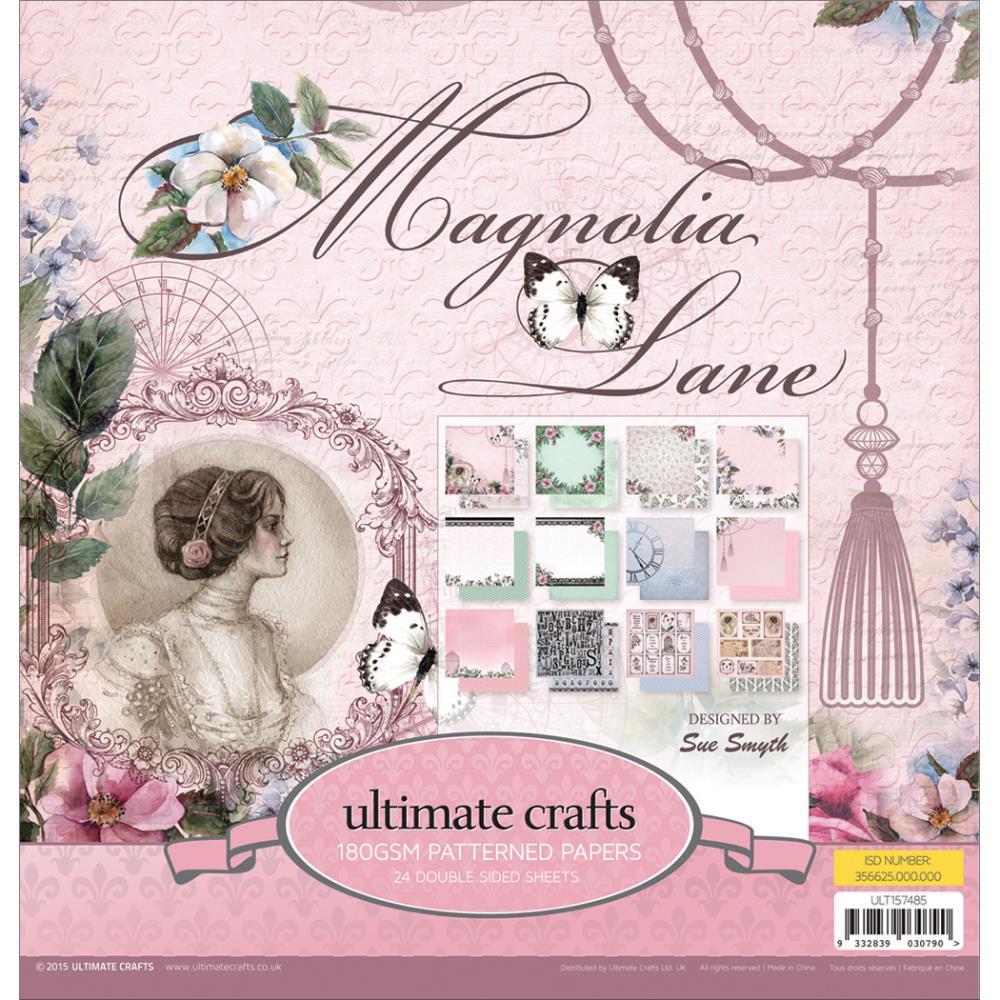 "Набор бумаги для скрапбукинга ""Magnolia Lane"" (24 листа, 30х30 см.)"