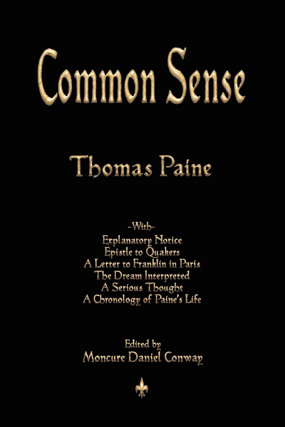 Thomas Paine Common Sense joseph moreau testimonials to the merits of thomas paine