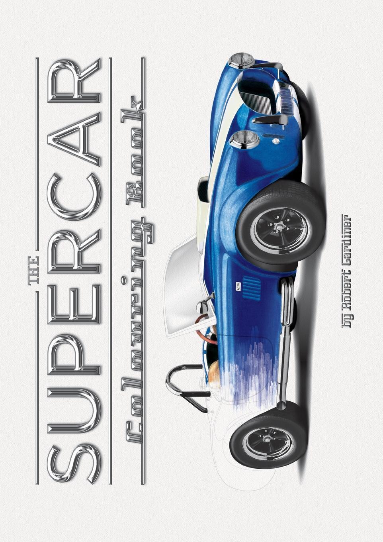 The Supercar Colouring Book