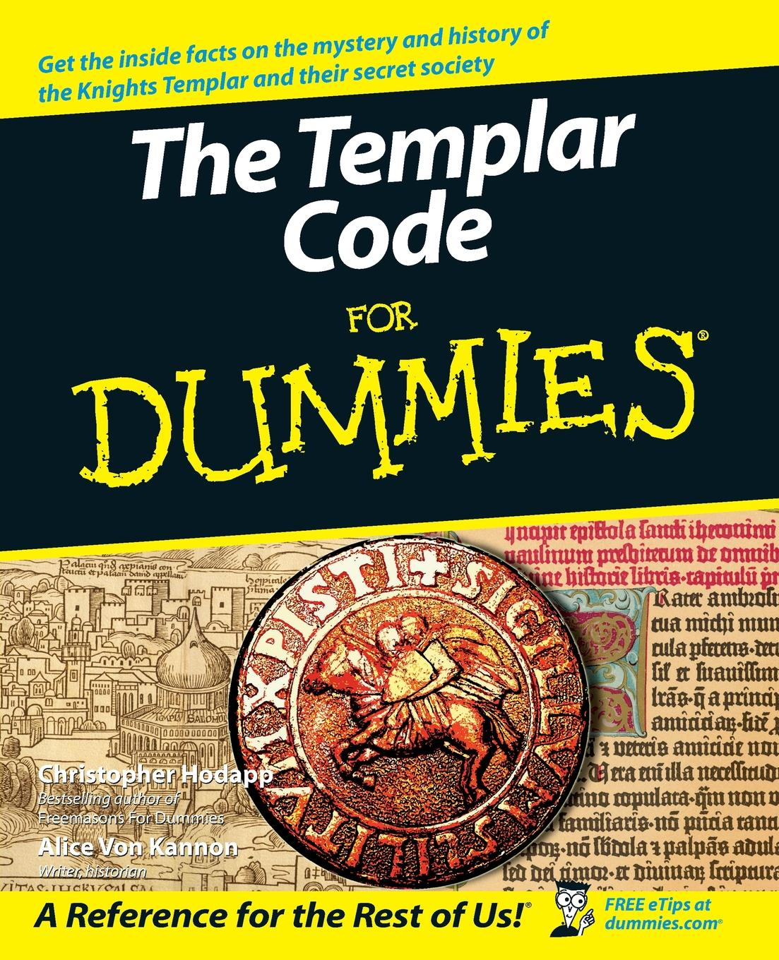 Christopher L. Hodapp Templar Code For Dummies christopher hodapp the templar code for dummies