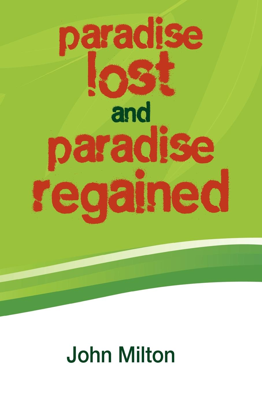 John Milton Paradise Lost and Paradise Regained стоимость