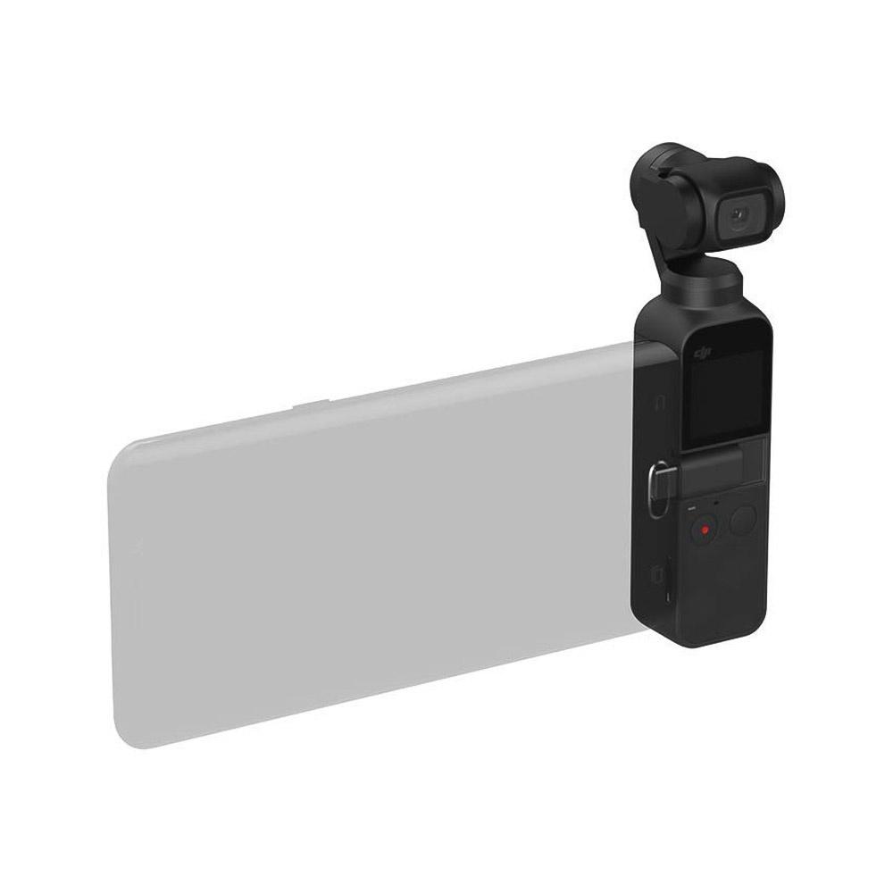 DJI OSMO Карманная портативная 3-осевая стабилизированная карданная камера 4K / 60fps Видео 12MP Фото Защита от сотрясений Встроенная литий-ионная батарея