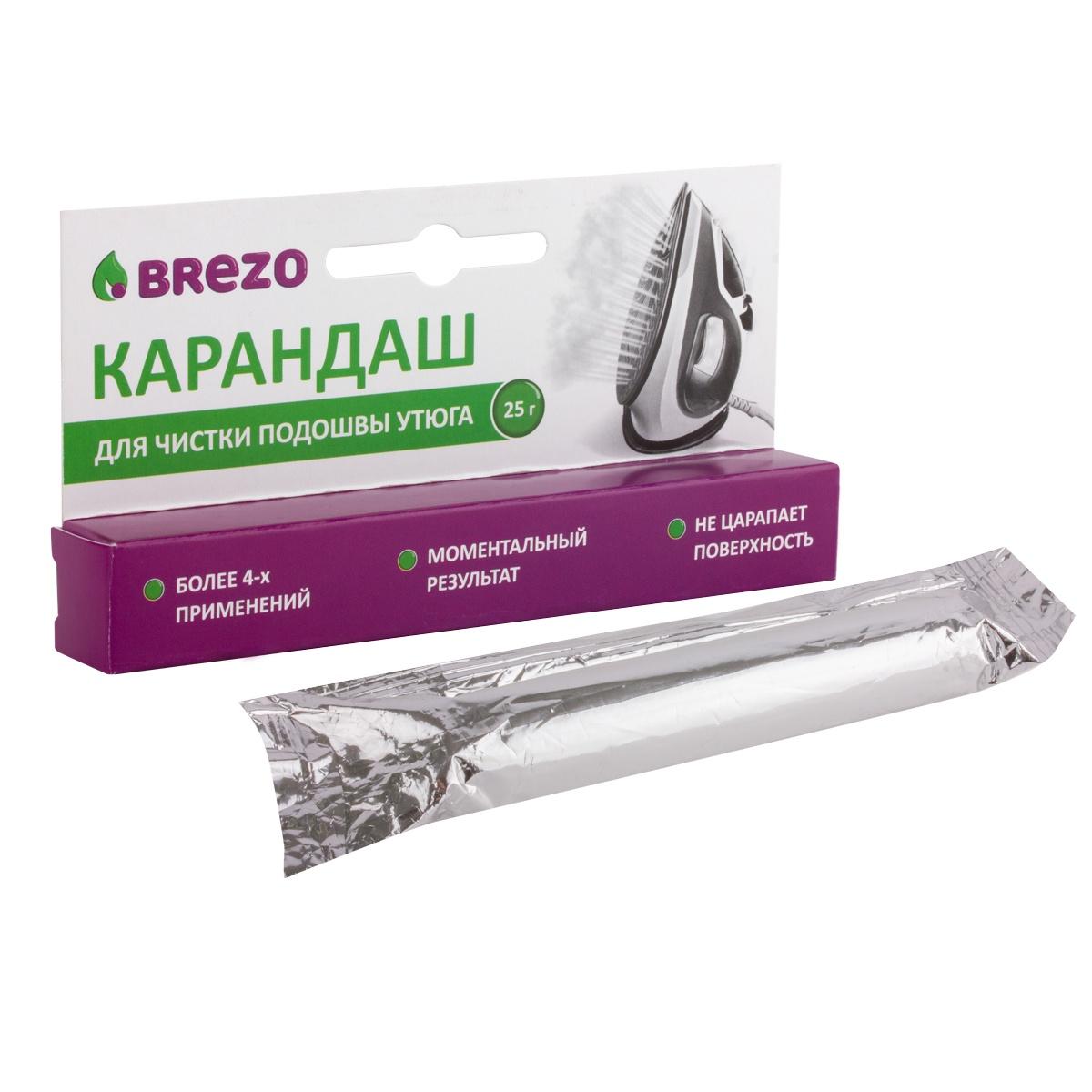 Карандаш для чистки подошвы утюга, 25 г. карандаш для чистки подошвы утюга top house 32 г
