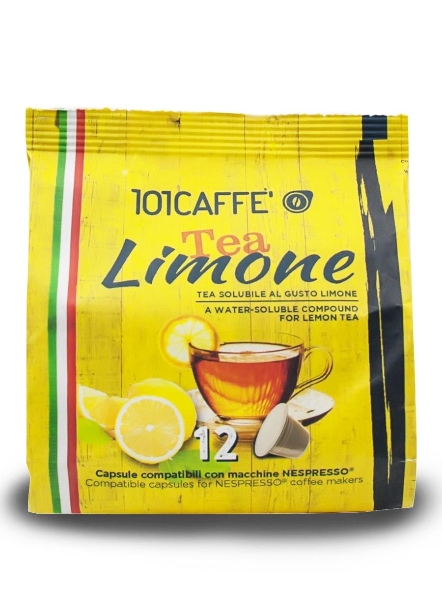 Чайный напиток в капсулах 101CAFFE Tea al Limone стандарта Nespresso (Неспрессо), 12 шт imperial tea beauty fitness напиток чайный 100 г