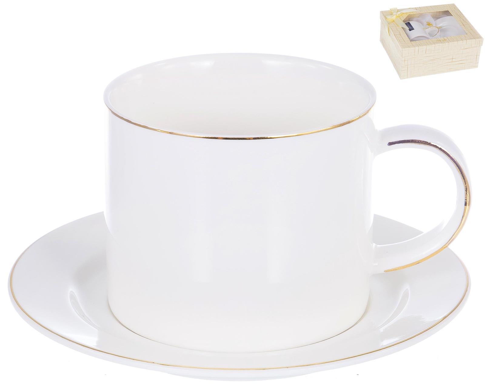 Чайная пара ГРАЦИЯ серия ДАКИНИ: чашка 280мл, блюдце,ТМ Balsford, артикул 101-01040