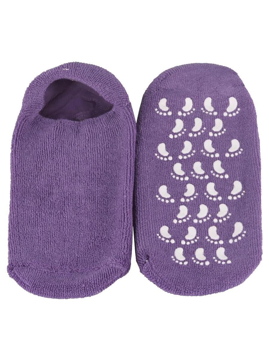 Носки косметические гелевые, L.A.G., цвет фиолетовый