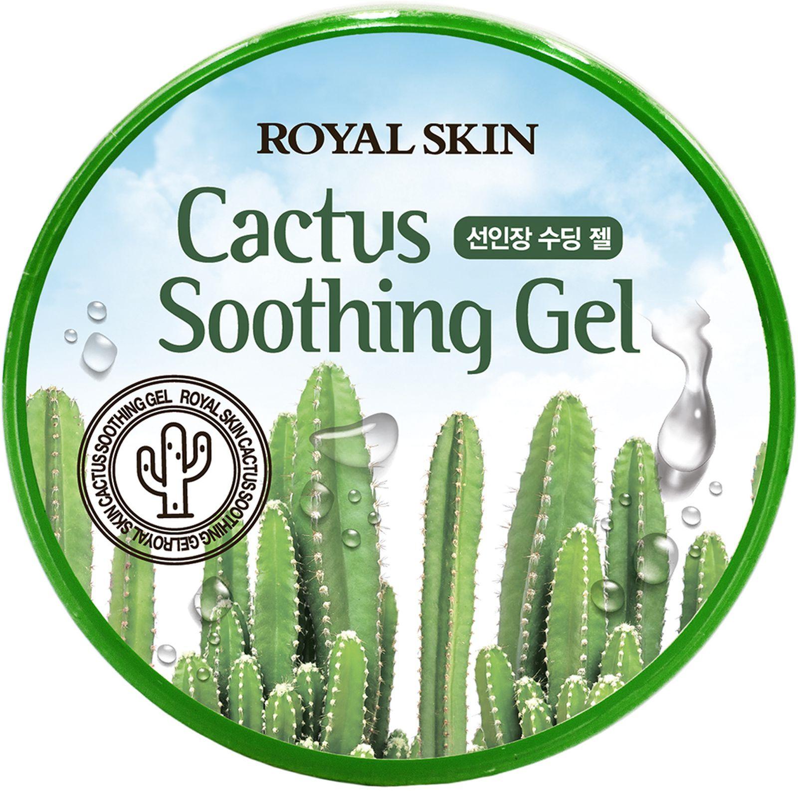 Гель для лица и тела Royal Skin, с экстрактом кактуса, 300 мл Royal Skin
