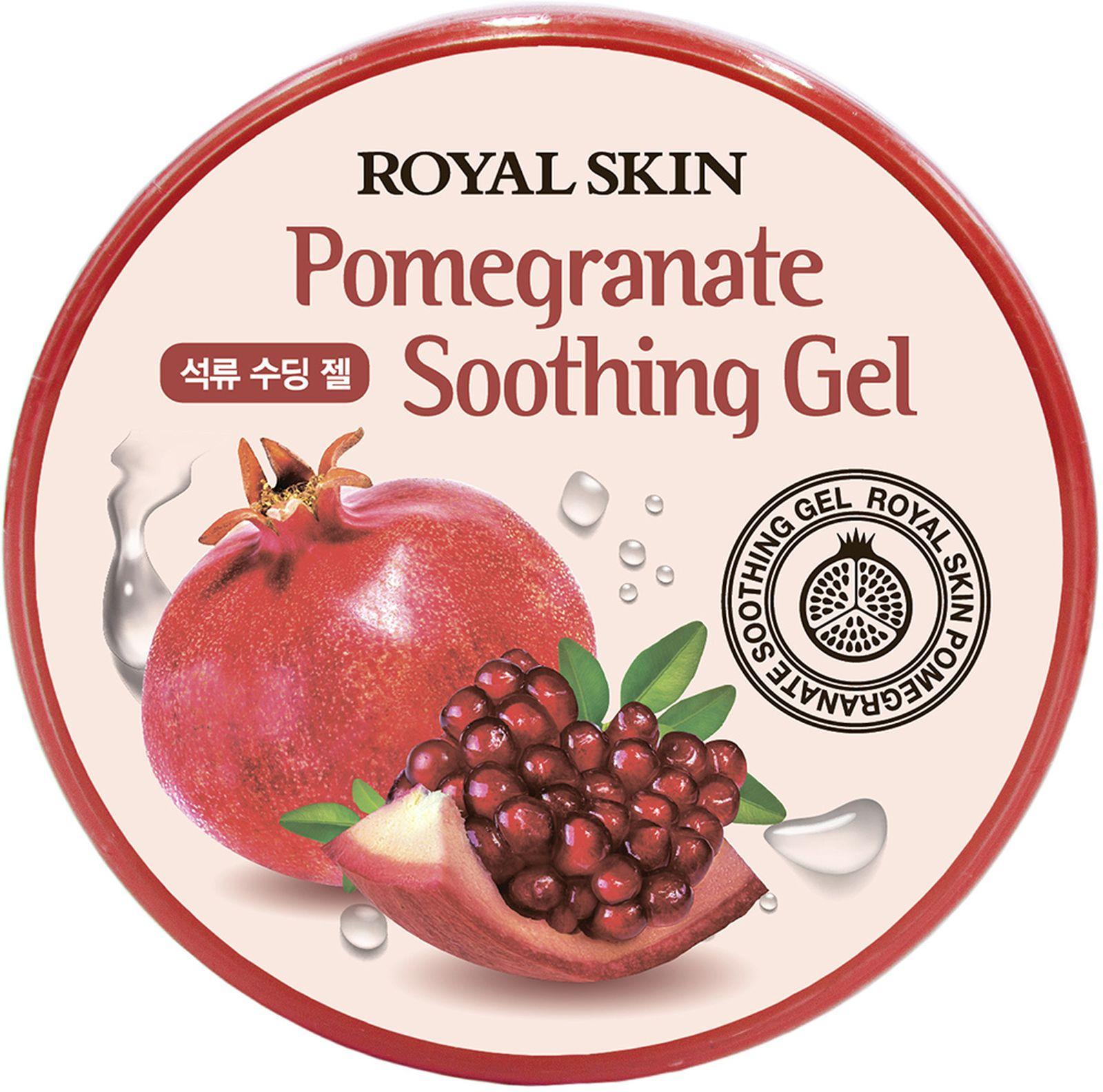 Гель для лица и тела Royal Skin, с экстрактом граната, 300 мл Royal Skin