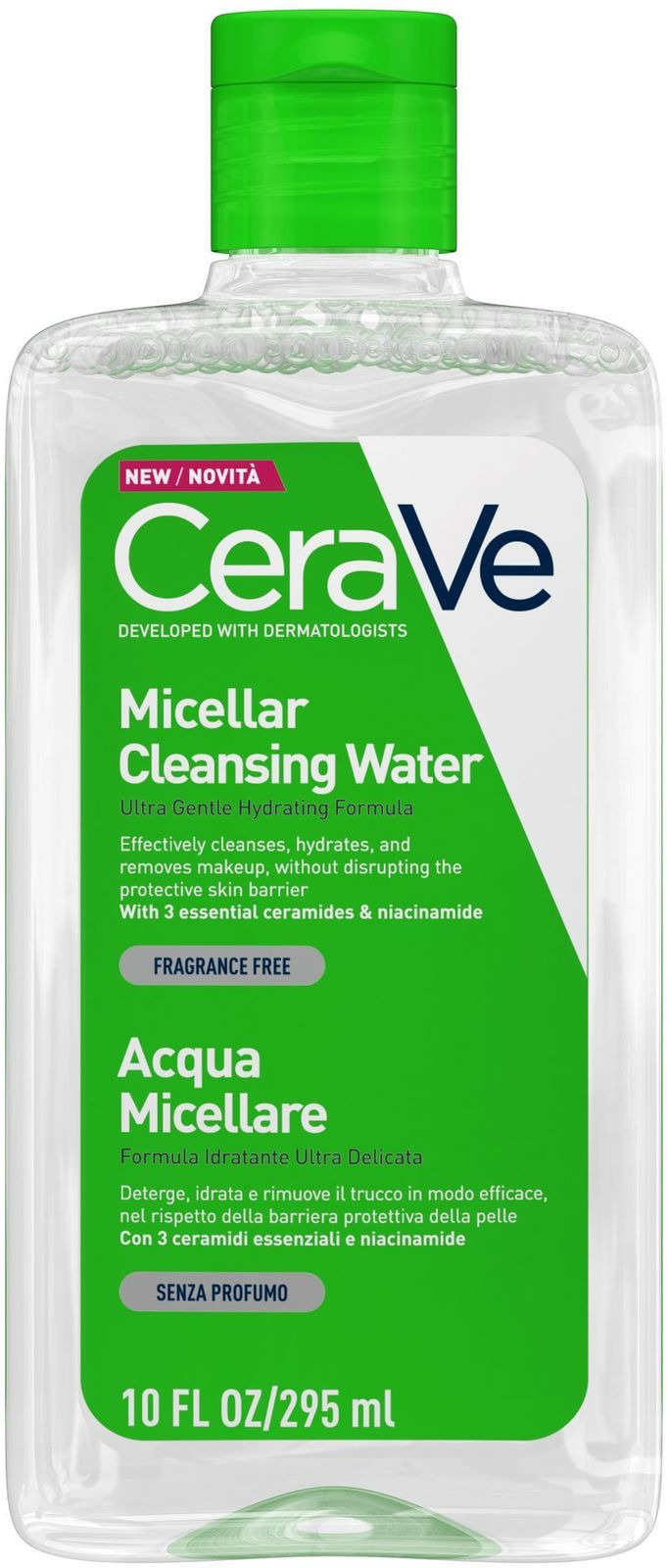 Мицеллярная вода CeraVe, увлажняющая, 295 мл мицеллярная вода cerave увлажняющая 295 мл