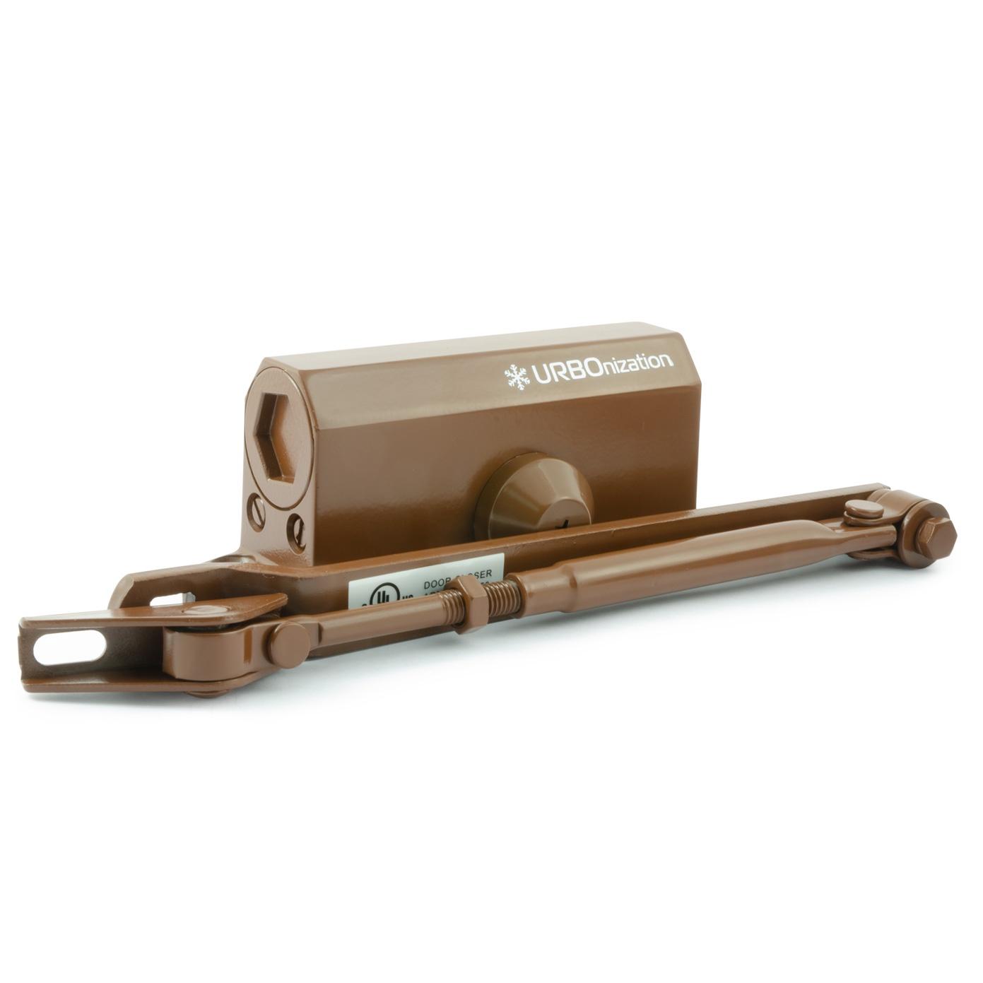Доводчик 510 URBOnization (15-60 кг) (коричневый) морозостойкий цена