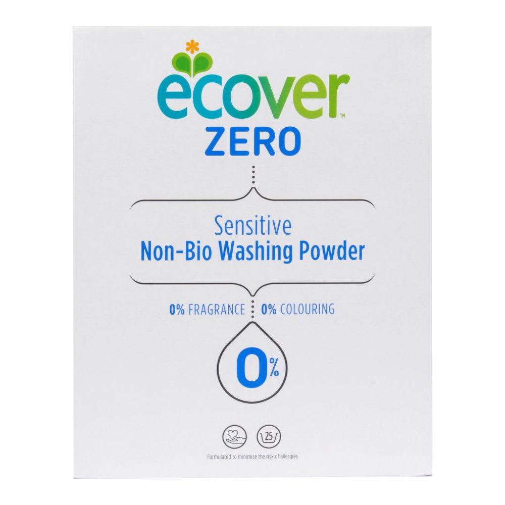 Экологический стиральный порошок-концентрат универсальный Ecover ZERO SENSITIVE NON BIO 1875 гр экологический стиральный порошок ecover концентрат универсальный 3 кг