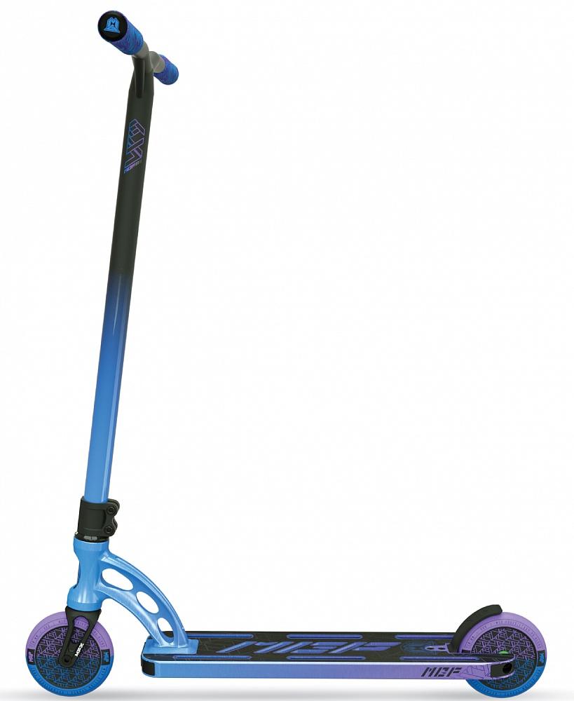 Трюковый самокат MGP (Madd Gear) VX9 TEAM SCOOTER (4.8 x 20 Inch) (RP-1, сине-фиолетовый)