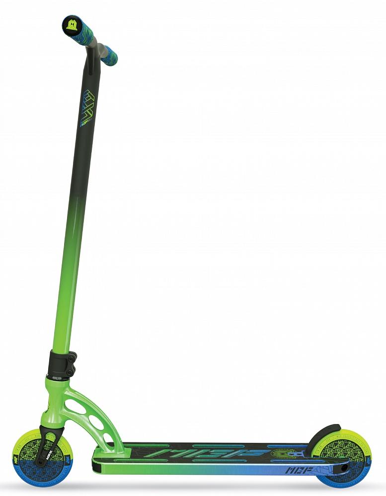 Трюковый самокат MGP (Madd Gear) VX9 TEAM SCOOTER (4.8 x 20 Inch) (Ethanol, зелено-голубой)