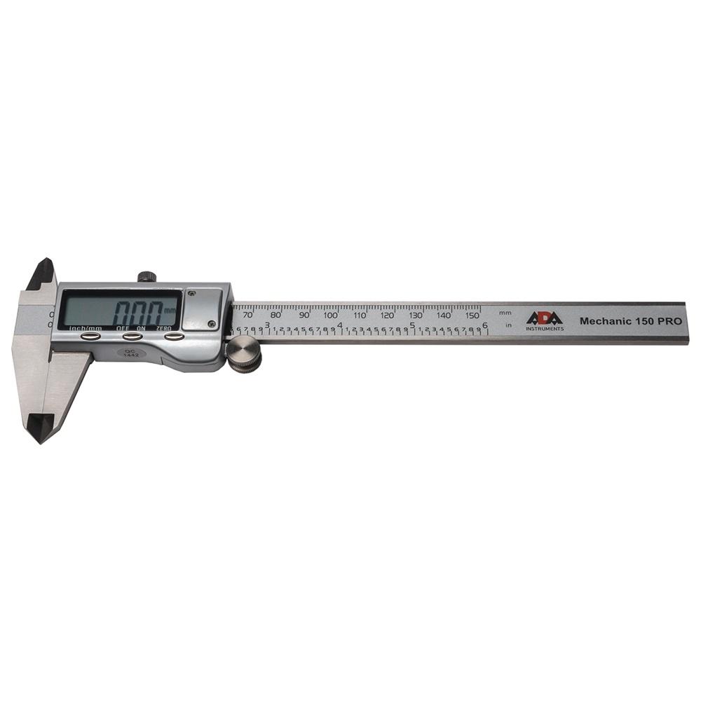 Штангенциркуль электронный ADA Mechanic 150 PRO штангенциркуль электронный kraftool 34460 150