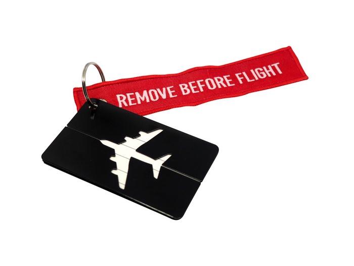 Бирка для багажа Optimum Air RBF (Черная)