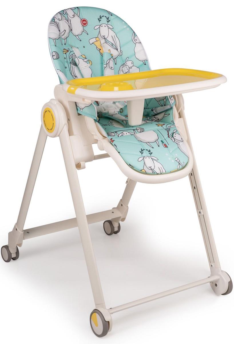 "Стул для кормления Happy baby ""BERNY BASIC"", до 25 кг, цвет: blue"