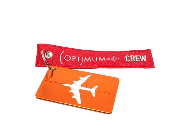 Бирка для багажа Optimum Air RBF (Оранжевая)