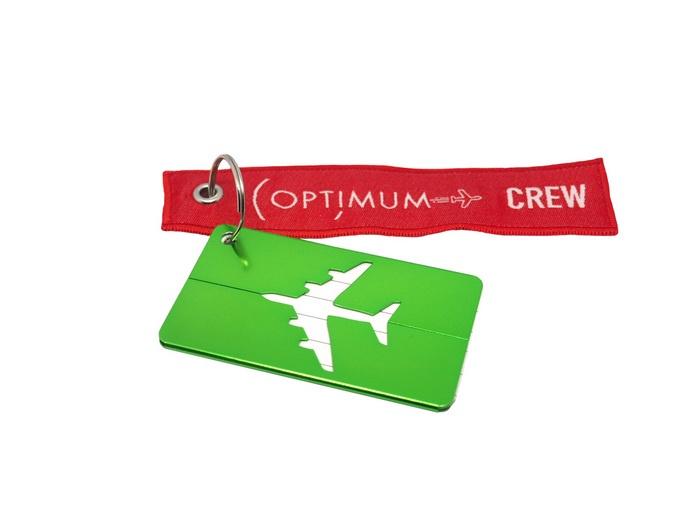 Бирка для багажа Optimum Air RBF (Зеленая)