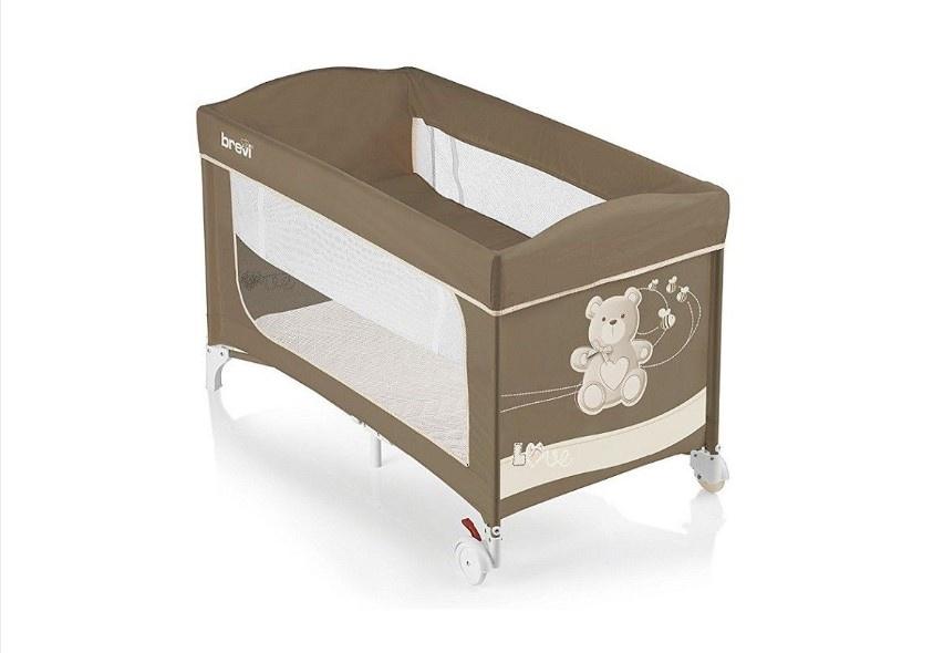 Манеж-кровать Brevi DOLCE NANNA PLUS (553 LITTLE BEAR) цена 2017