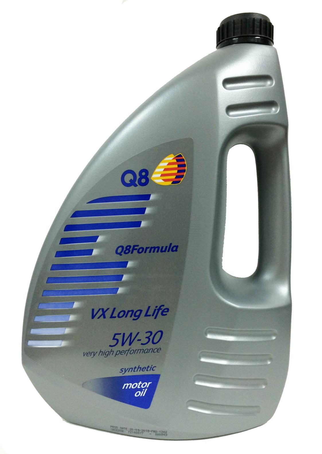 Масло Q8 F VX Long Life 5W-30 4л