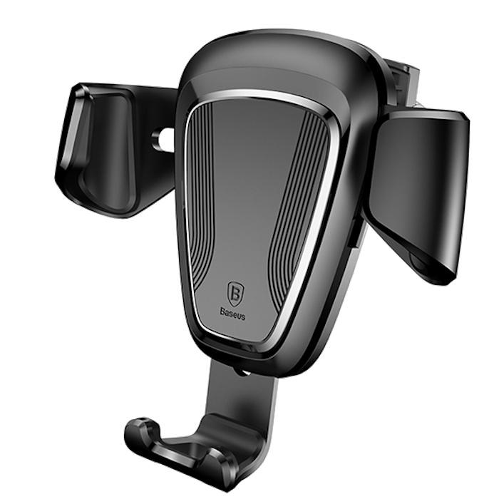 Автодержатель для смартфона Baseus Gravity Car Mount Чёрный
