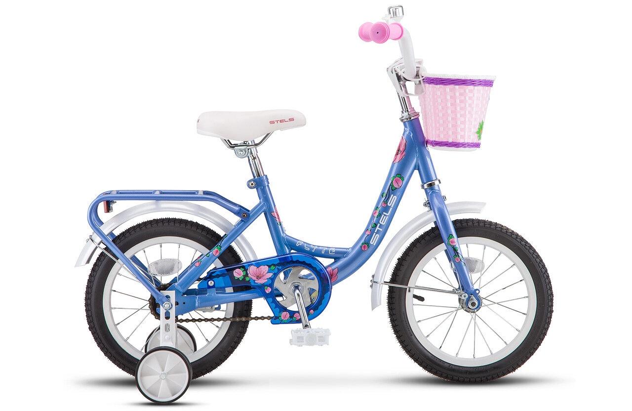 Велосипед 14 STELS Flyte Lady (9.5 Голубой)