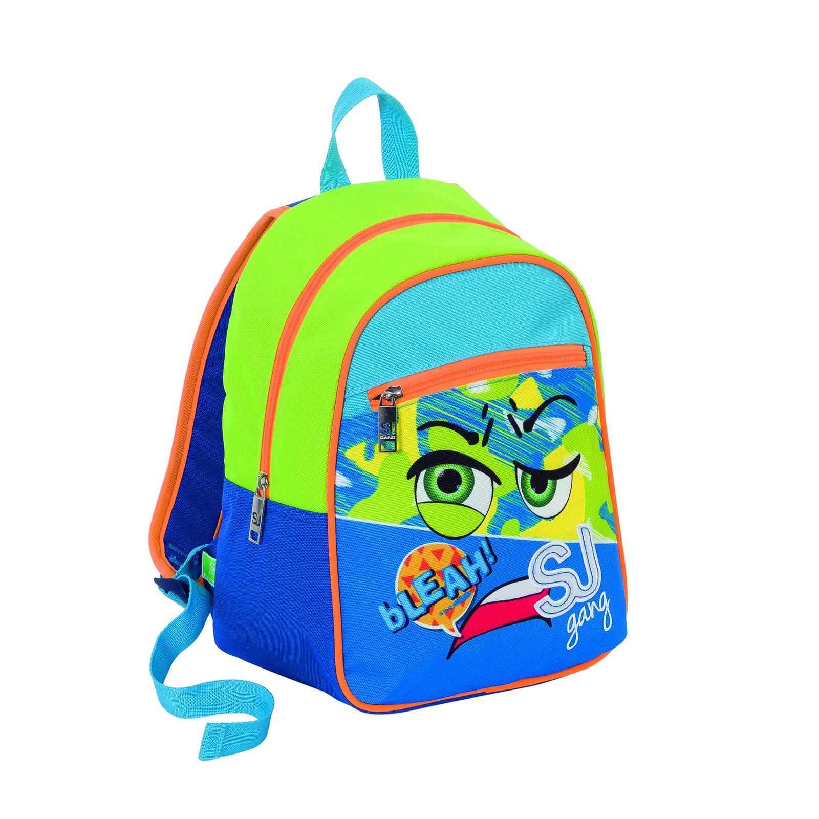 Рюкзак ZAINO SMALL SJ GANG FACCE DA - Королевский синий рюкзак мужской quiksilver everydaypostemb m eqybp03501 bng0 королевский синий