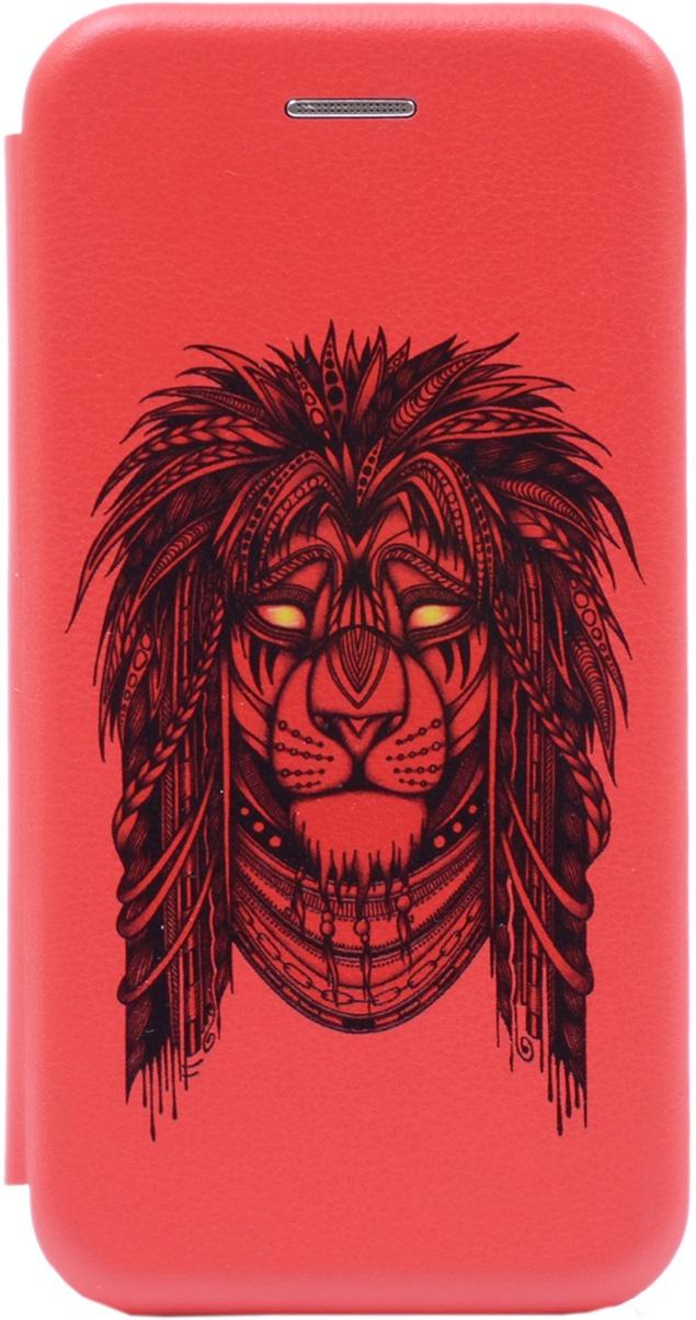 Чехол-книжка Book Art Jack Grand Leo для Huawei Honor 9 Lite красный GOSSO CASES