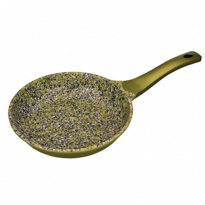Сковорода WINNER 28 см GREEN STONE с гранитным покр