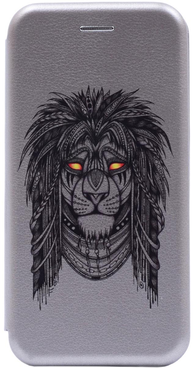Чехол-книжка Book Art Jack Grand Leo для Huawei Honor 9 Lite серый GOSSO CASES