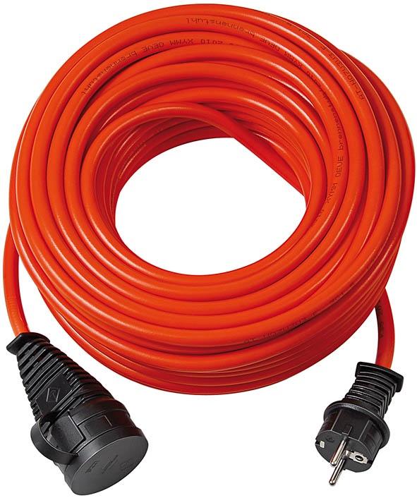 1161950 Brennenstuhl удлинитель BQ, кабель BREMAXX 10 м., оранжевый, IP44