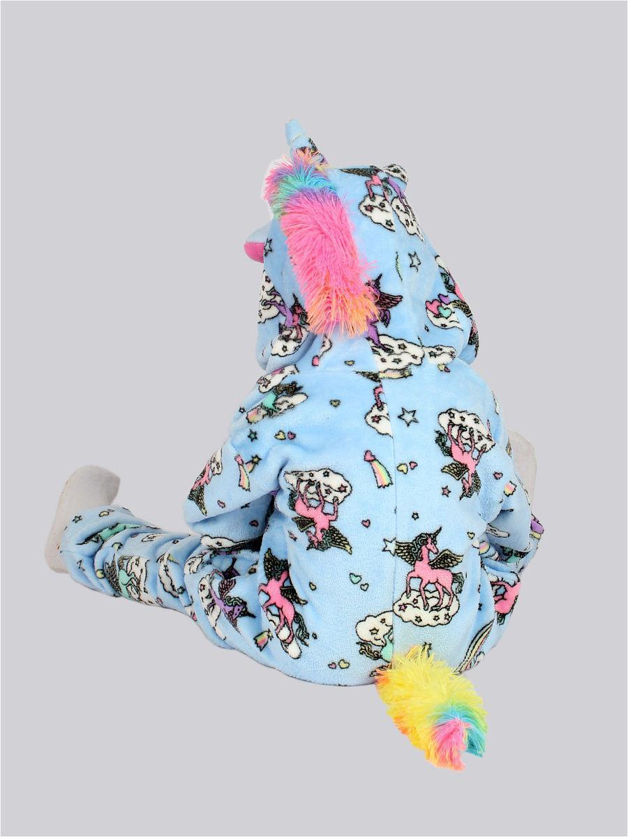 Кигуруми Единорог облака L.A.G., цвет голубой, размер 120