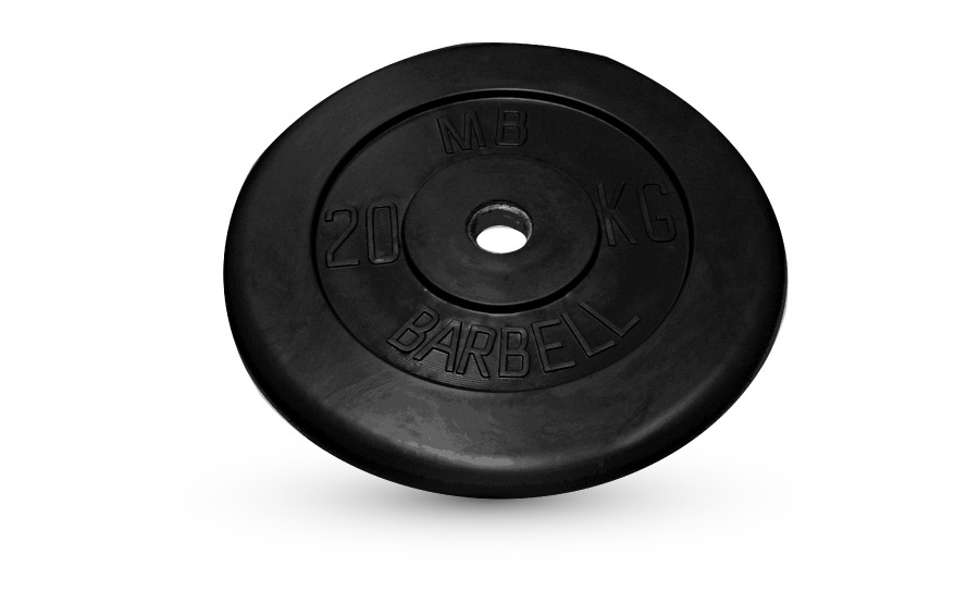 Barbell диски 20 кг 26 мм MB-PltB26-20