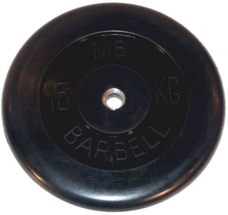 Barbell диски 15 кг 26 мм MB-PltB26-15