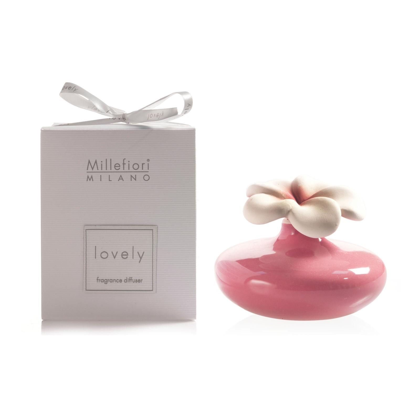 LOVELY / Керамический диффузор в форме фиолетового цветка / LOVELY FLOWER SMALL DIFFUSER PURPLE