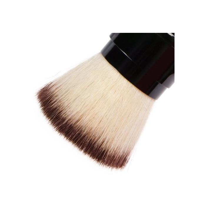 Кисть макияжная IRISK складная для нанесения пудры, двухцветная косметическая кисть irisk irisk