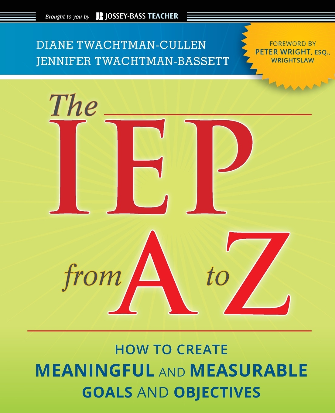 Twachtman-Culle, Twachtman-Basse, Wright The IEP From A to Z недорого