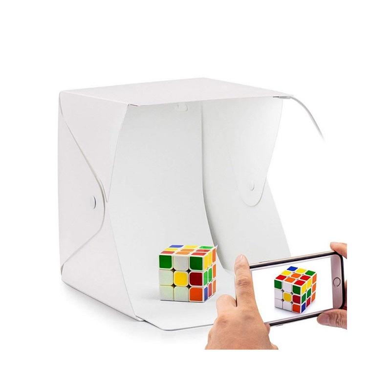 Портативная LED фотостудия для предметной фотосъемки