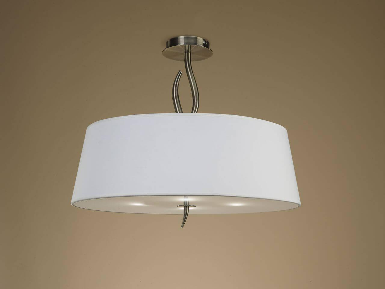 Потолочный светильник Mantra 1928, E27, 20 Вт светильник потолочный mantra ninette chrome 1908m