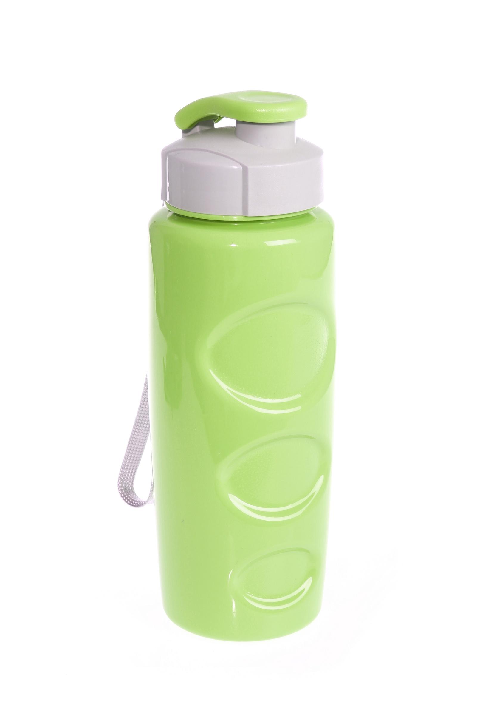 Бутылка для воды Ивиа 700 мл, с фильтром, салатовая
