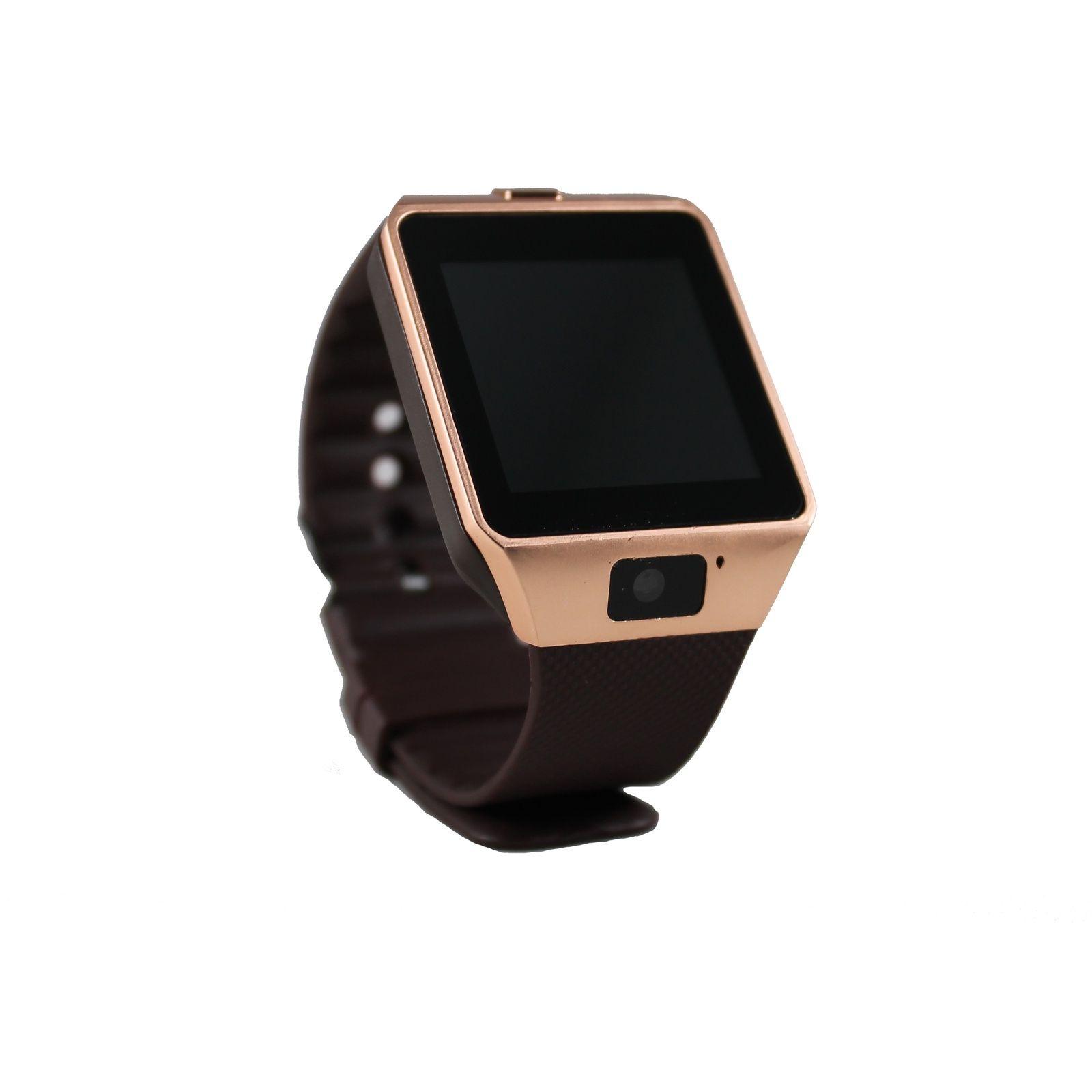 Умные часы ZDK DZ09 bronze (Android, IOS, Динамик, Микрофон, SIM, MicroSD, Камера) умные часы zdk dz09 silver
