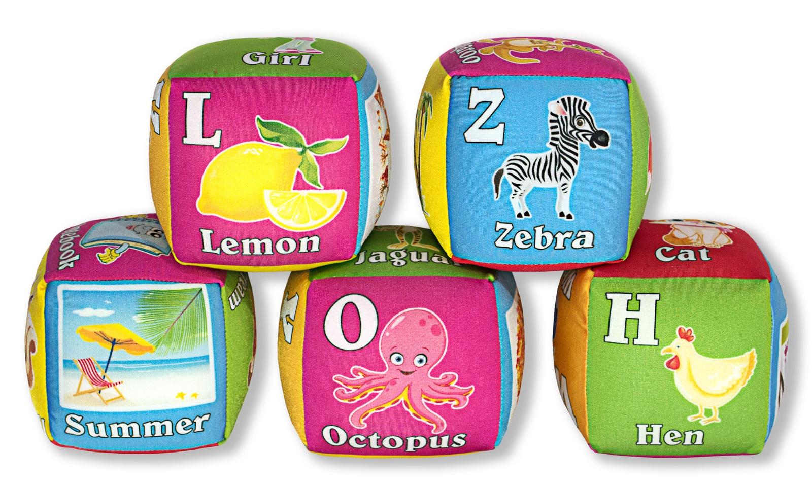 Штучки, к которым тянутся ручки Развивающая игрушка-антистресс Английский алфавит