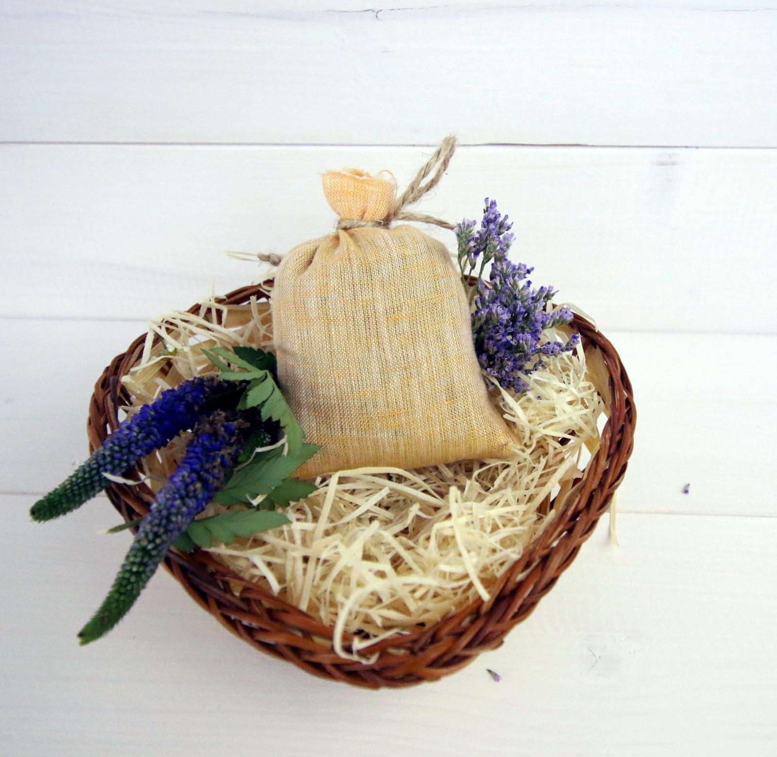 Ароматическое саше Midzumi Лавандовое вдохновение корзина для хранения альтернатива вдохновение цвет салатовый 26 5 х 16 5 х 10 см