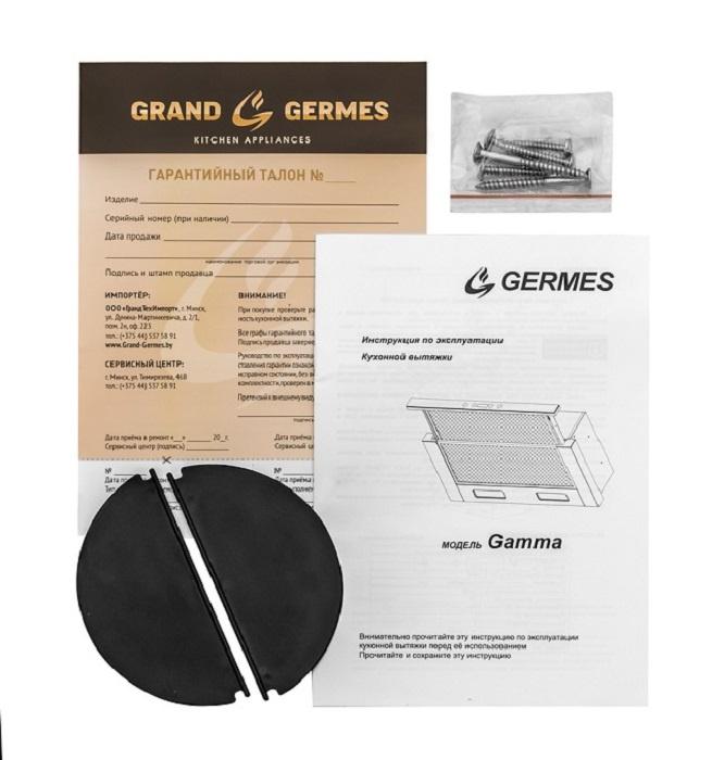 Вытяжка кухонная Germes Gamma (60см, белый) . ...