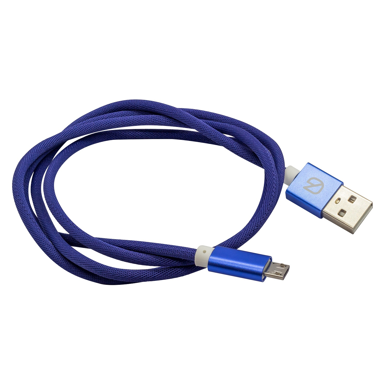 Кабель из плетёной ткани для зарядки мобильных устройств и передачи данных Micro USB to USB A все цены