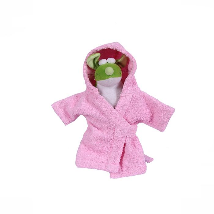 Халат банный для животных Pretty Pet, Цвет розовый, S